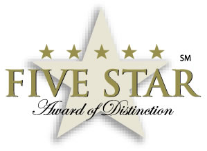 Five Star Award logo